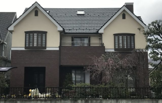 鎌倉市 N様邸 外壁塗装 屋根塗装 フッ素塗料 コーキング工事