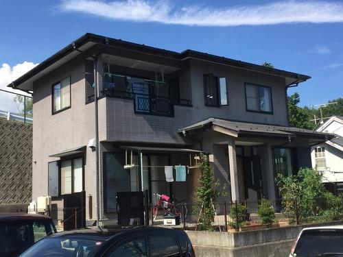 神奈川県逗子市 S様邸 外壁塗装 屋根塗装 コーキング工事