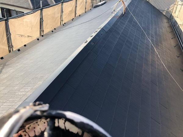 神奈川県三浦市 屋根塗装 下地処理 日本ペイント サーモアイ