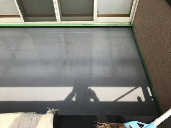 神奈川県横須賀市 外壁塗装 防水工事 ベランダ バルコニー FRP防水