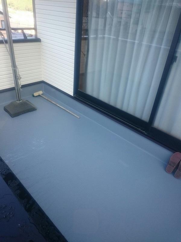 神奈川県逗子市 外壁塗装 防水工事 ウレタン防水
