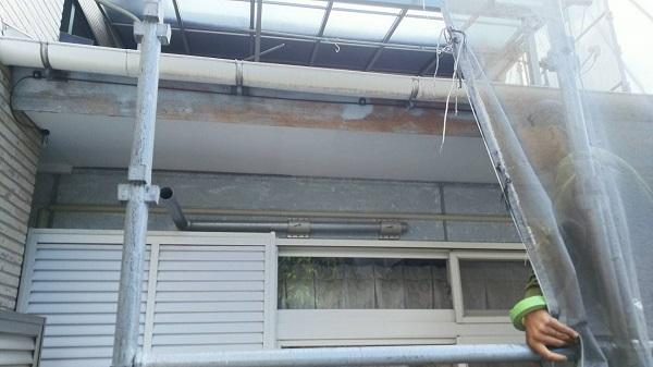 神奈川県三浦郡葉山町 外壁塗装 屋根塗装 付帯部塗装 下地処理 高圧洗浄 ケレン作業