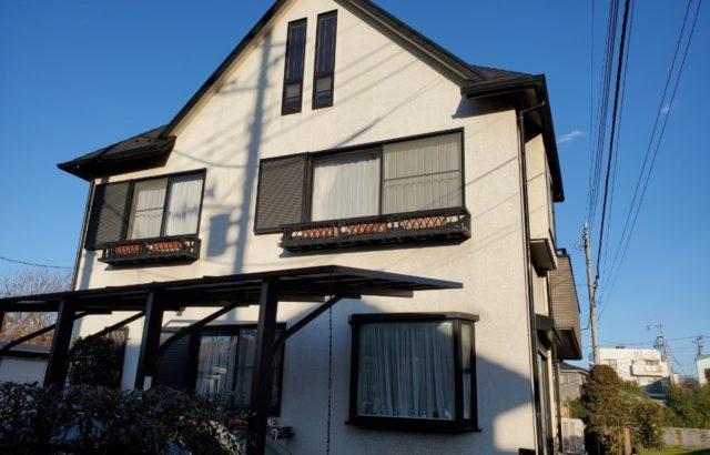 神奈川県逗子市 外壁塗装 シーリング工事 ひび割れ補修 屋根板金補修 防水工事 付帯部塗装