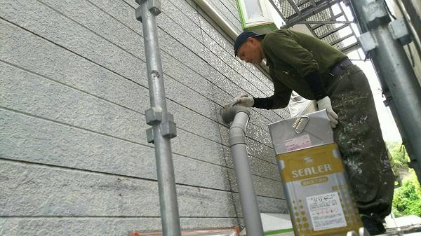 神奈川県三浦郡葉山町 外壁塗装 屋根塗装 付帯部塗装 タスペーサー 無機系塗料 ダイヤスーパーセラン