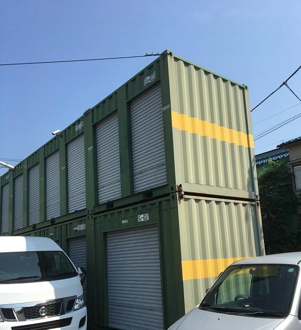 神奈川県横須賀市 海上輸送用コンテナ塗装 塩害対策