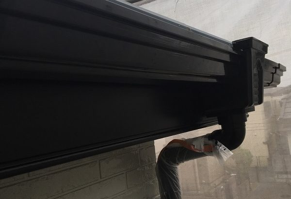 神奈川県三浦郡葉山町 外壁塗装 付帯部塗装 雨樋塗装