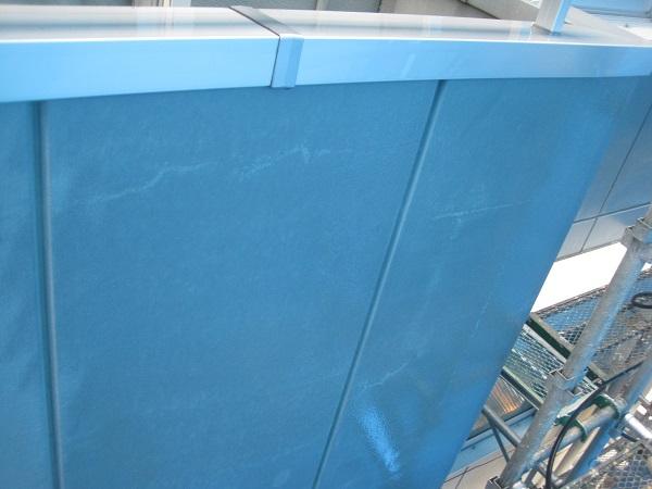 神奈川県横須賀市 外壁塗装・屋根塗装・付帯部塗装 工場 下地処理 高圧洗浄~養生