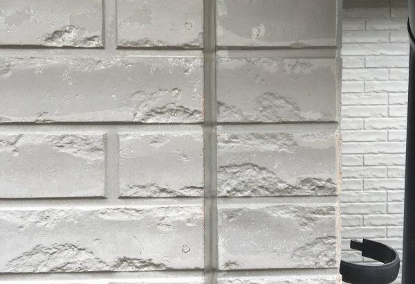 神奈川県三浦郡葉山町 外壁塗装 現場調査 チョーキング現象 コーキングの劣化
