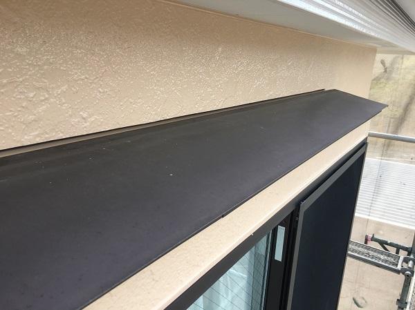 神奈川県三浦市 外壁塗装 付帯部塗装 霧除け庇 完工