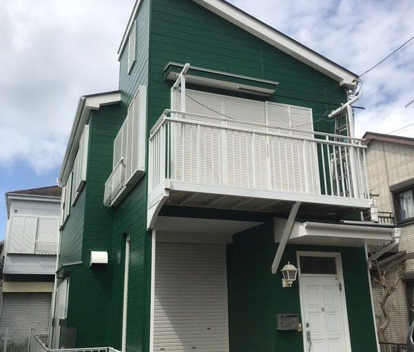 神奈川県横須賀市 外壁塗装・屋根塗装 外壁塗装の工程 下塗りの役割 関西ペイント アレスホルダーGII セラMシリコンIII (2)