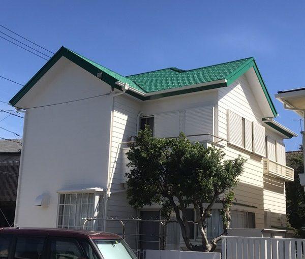 神奈川県逗子市 外壁塗装 劣化症状 下地処理が重要な理由 (1)