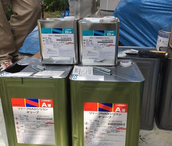 神奈川県逗子市 屋根塗装・外壁塗装・付帯部塗装 ニットク リリーフNADシリコン エスケー化研 プレミアムシリコン ラジカル制御式