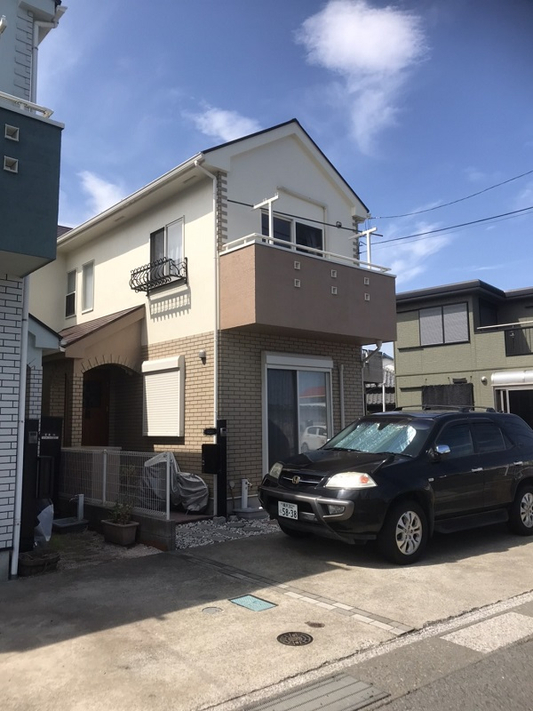 神奈川県横須賀市 外壁塗装 下地処理の工程 塗装工事は下地処理が重要です。